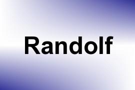 Randolf name image