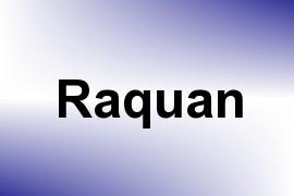 Raquan name image