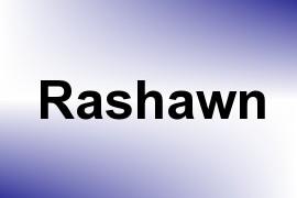 Rashawn name image
