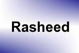Rasheed name image