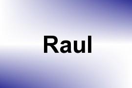 Raul name image
