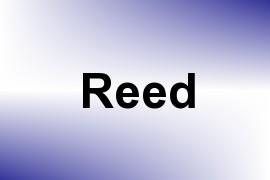 Reed name image