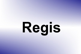 Regis name image