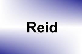 Reid name image