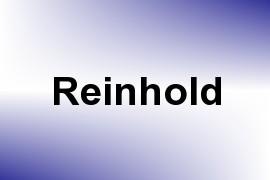 Reinhold name image