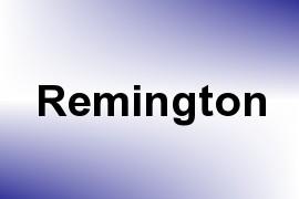 Remington name image