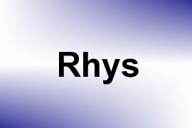 Rhys name image