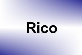 Rico name image