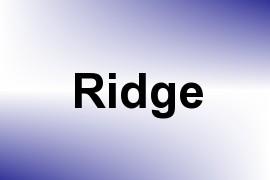 Ridge name image