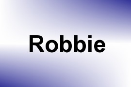 Robbie name image