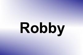 Robby name image