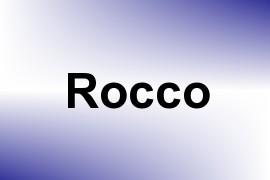 Rocco name image