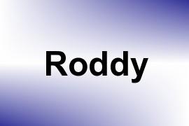 Roddy name image