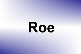 Roe name image