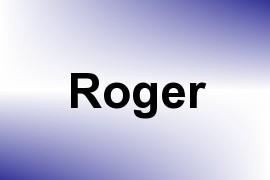 Roger name image