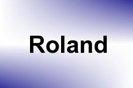Roland name image