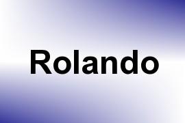 Rolando name image