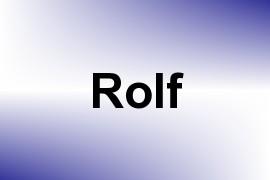 Rolf name image