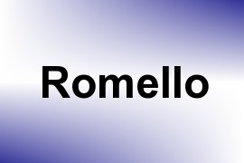Romello name image