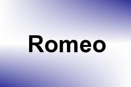 Romeo name image