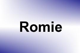 Romie name image