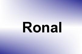 Ronal name image