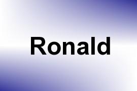 Ronald name image