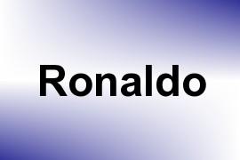 Ronaldo name image