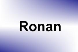 Ronan name image