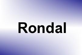 Rondal name image