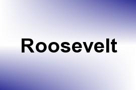 Roosevelt name image