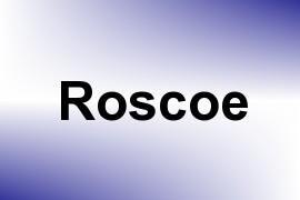 Roscoe name image