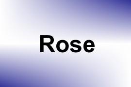 Rose name image