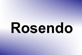 Rosendo name image