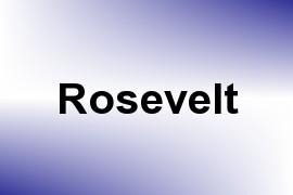 Rosevelt name image