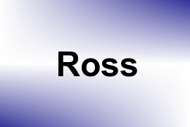 Ross name image