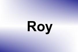 Roy name image