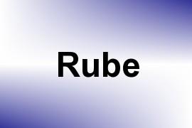 Rube name image