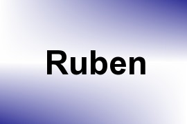 Ruben name image