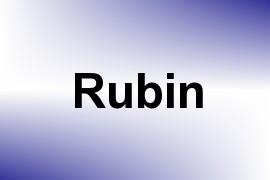 Rubin name image