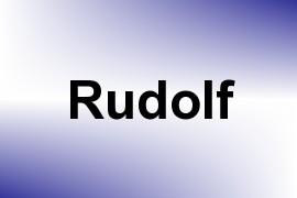 Rudolf name image