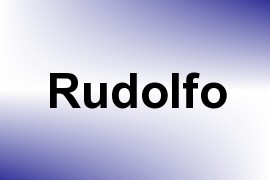 Rudolfo name image