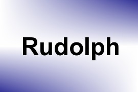 Rudolph name image