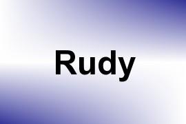 Rudy name image