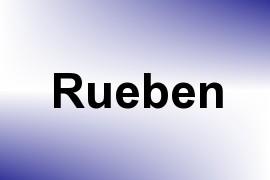 Rueben name image