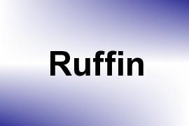 Ruffin name image