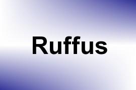 Ruffus name image