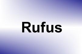Rufus name image