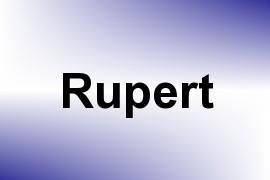 Rupert name image