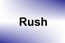 Rush name image